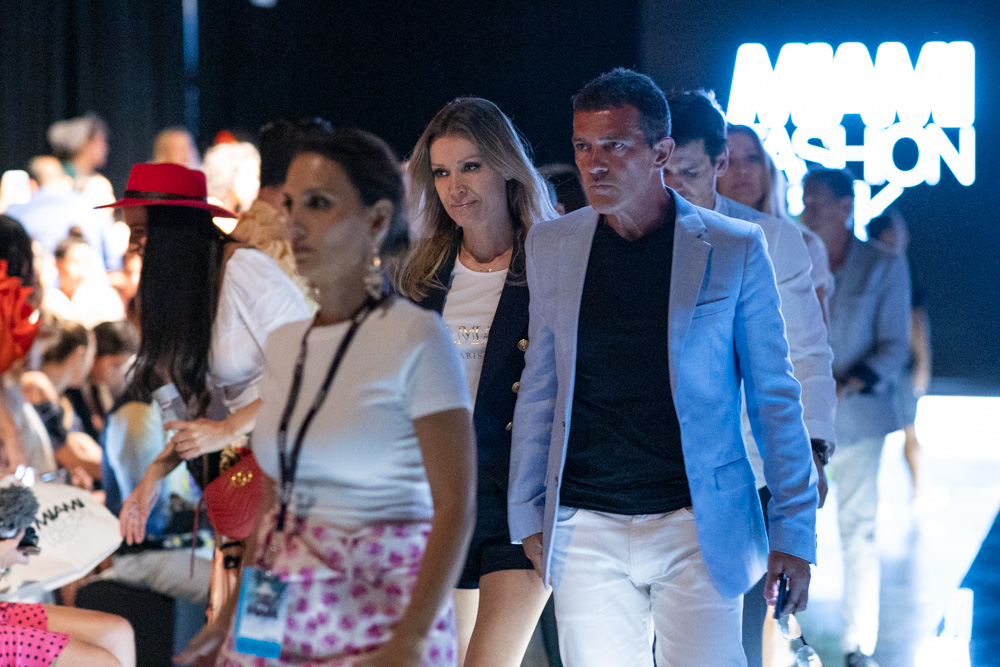 Miami Fashion Week Designers Dinner hosted by Antonio Banderas