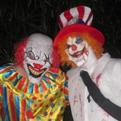 Miami Brickell monster bar crawl on Halloween