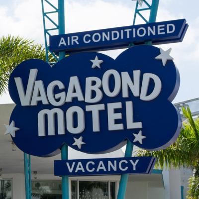 The Vagabond Hotel, Biscayne Blvd, Miami
