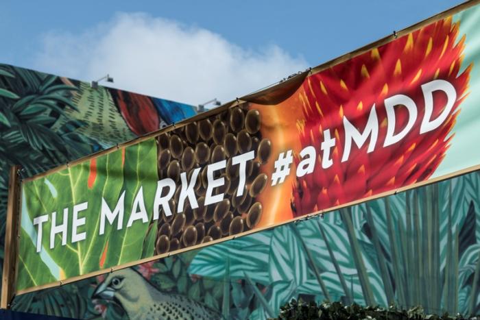 The Farmers Market at Miami Design District