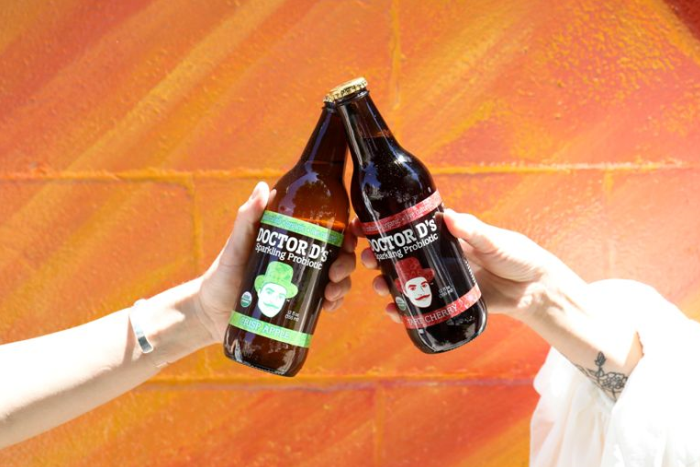 Doctor D'sDelicious Summer Sparkling Probiotic Drink Has Arrived to South Florida
