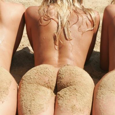 Beach Florida girl nude
