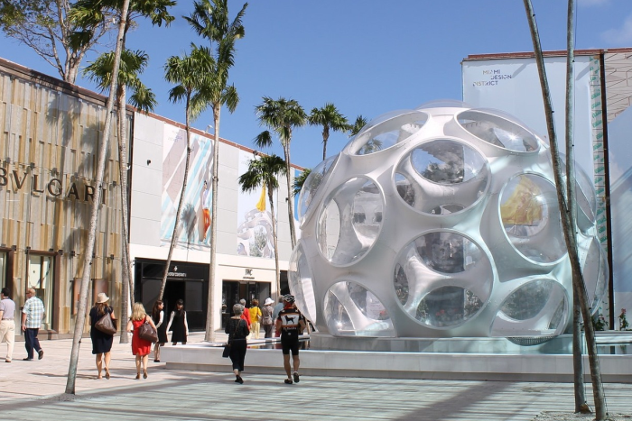 The Design District is a neighborhood within the city of Miami