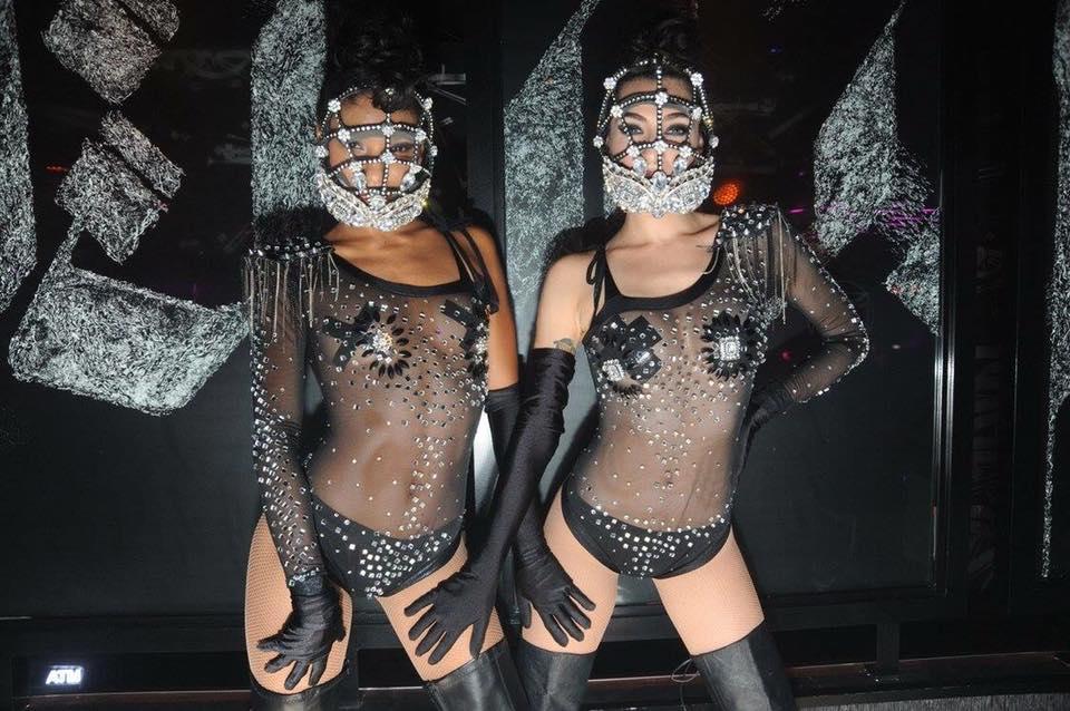 Dance Girls Zhantra Miami Beach