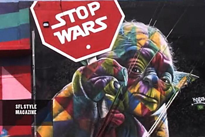 Wynwood Walls - Miamis Design District Panorama of Graffiti Culture