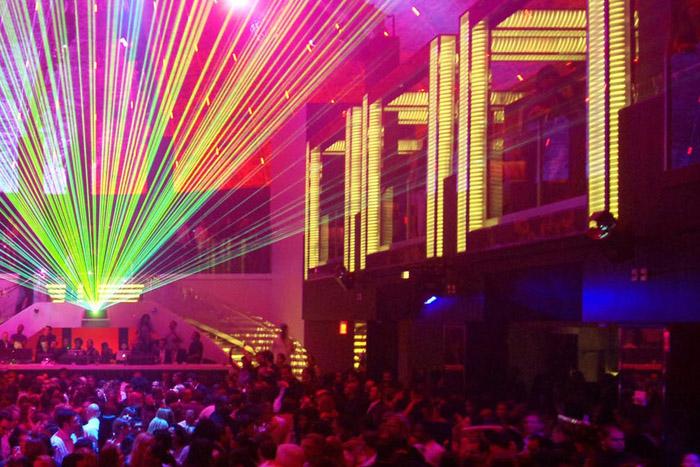 Party at LIV Night Club on Miami Beach