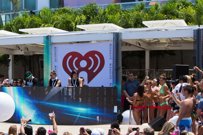 iHeartRadio Pool Party Miami Beach 2016 at Fountainebleau Hotel