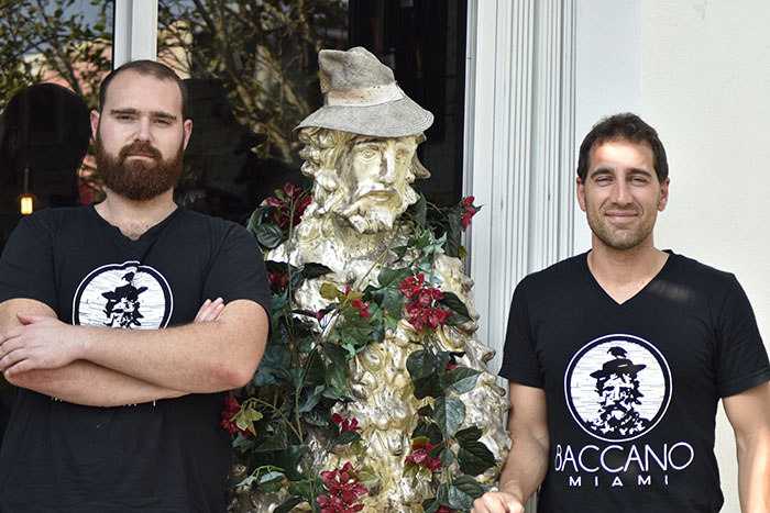 Baccano owners - the best Italian restaurant in Miami