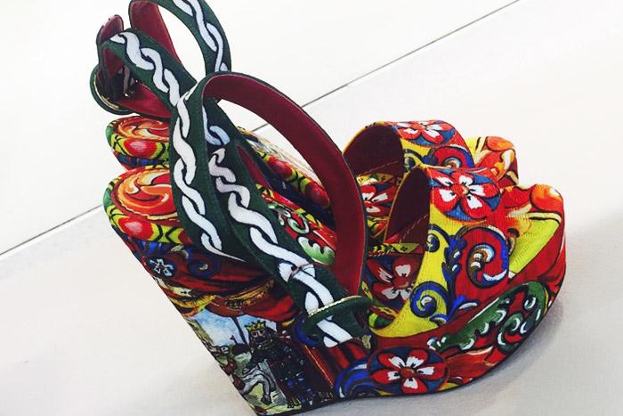 Montserrat Picks - Sicilian carretto collection by Dolce & Gabbana.