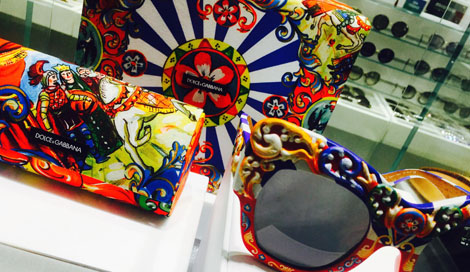 Dolce & Gabbana at Sunglass Hut Flagship Lincoln Road