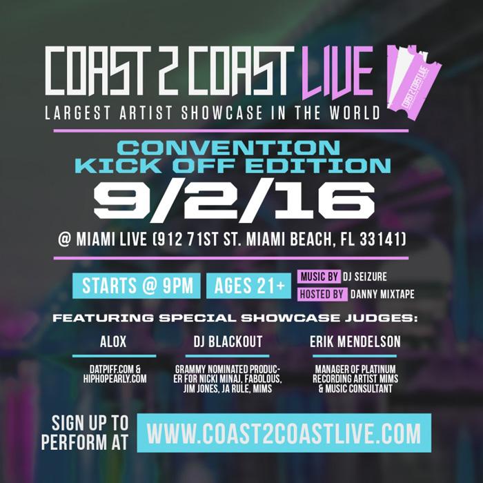 Coast 2 Coast Convention Miami Kick Off