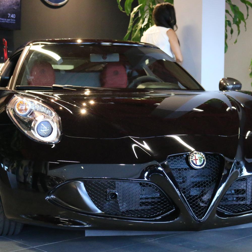 Fiat Alfa Romeo North Miami 124 Spider Launch