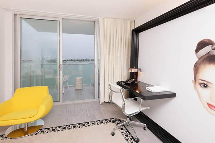 Miami Beach Rental - Luxury Sobe Bay view balcony suite $5