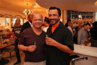 MiMo Thursdays at the Vagabond Kitchen and Bar, Guests with ZAMACA shots