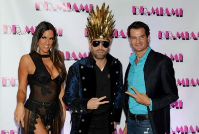 GoFox App Launch Party with Dr. Miami and Claudia Romani at Dry de Luxe on Miami Beach