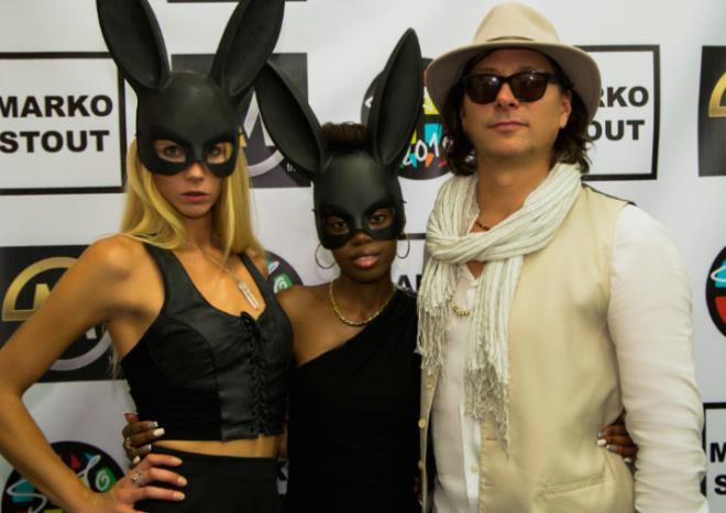 Marko Stout New York famed artist Rocks Miami