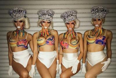 Zhantra Entertainment company, Performers girls in Miami, Art Basel 2016