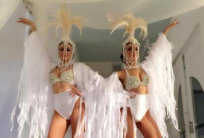 Zhantra Entertainment company, Performers girls in Miami, White pearl