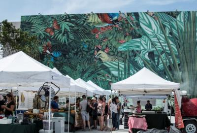 The Market at #MDD - Farmers Market at Miami Design District every Wednesday