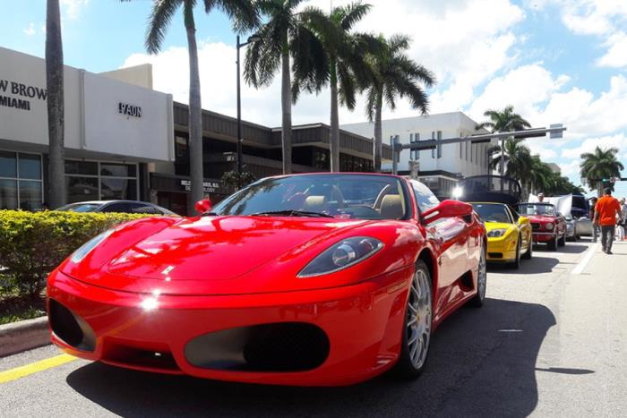 Exotic Car Show in Miami