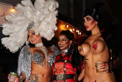 Halloween Party 2018 on Lincoln Road South Beach Miami