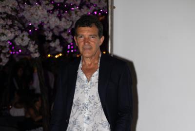 Antonio Banderas at Miami Fashion Week Designer Dinner