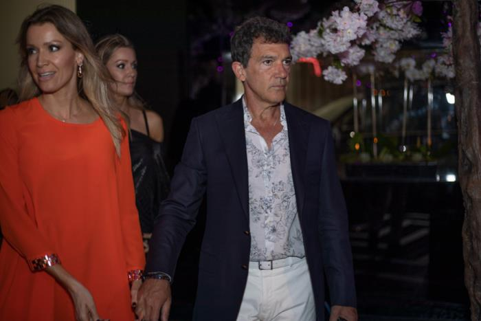 Miami Fashion Week Designer Dinner hosted by Antonio Banderas