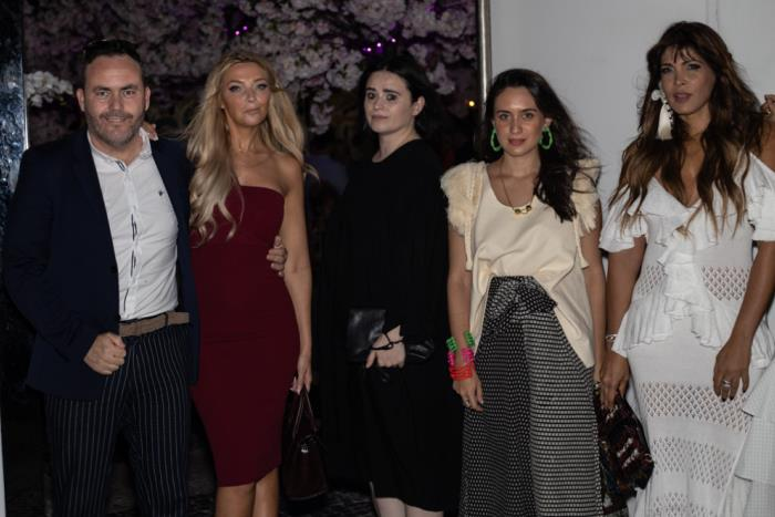 Miami Fashion Week Designer Dinner Party hosted by Antonio Banderas