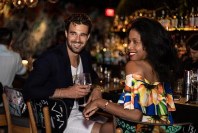 Miami Fashion Week Designer Dinner Private Party hosted by Antonio Banderas at Chotto Matte