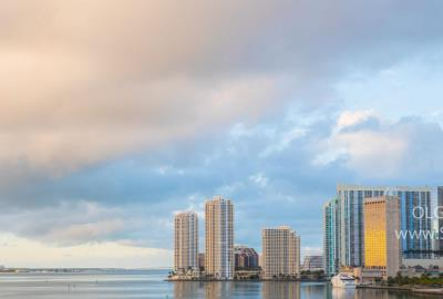 Quarantine COVID-19 in Downtown Miami, Florida, Photographer Olga Kulakova