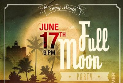Full Moon party At The National Hotel