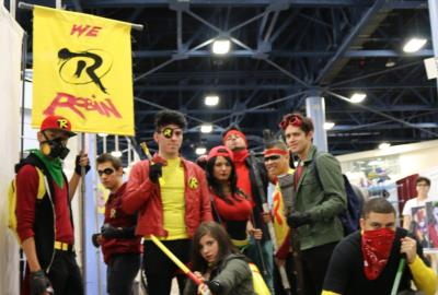 Supercon 2016 Miami Beach, cosplayers We R Robin