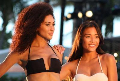 Miami Swim Week 2016 Hammock and Kaohs Runway show Miami Beach models