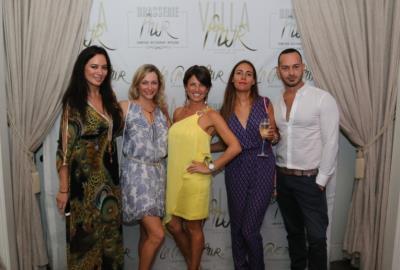 A Small World Soiree at Villa Azur, Miami Beach Restaurant, Montserrat Franco