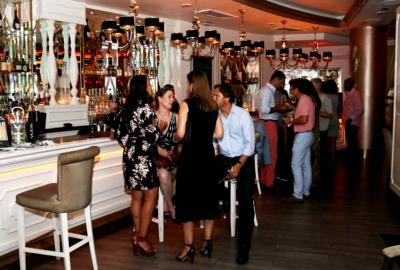 A Small World Soiree at Villa Azur, Miami Beach Restaurant