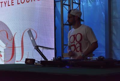 DJ at Miami Wynwood Life Festival - The Style Lounge
