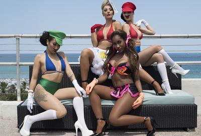 Aqualicious Party - AQUA Girl 2016 Miami Beach